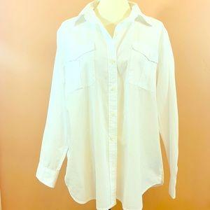 Lauren Ralph Lauren Women's Button Down Shirt XL